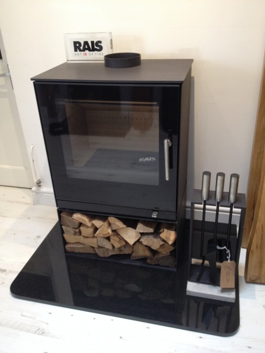 Rais Stoves Available From Flaming Fires