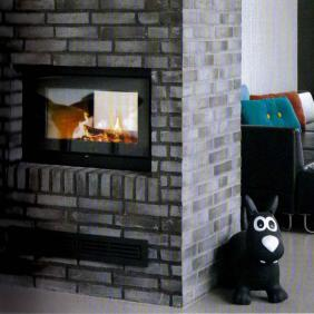 Rais 2:1 Double Sided Wood Burner