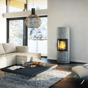 Hwam 7150 c wood burning stove with soap stone cover produkt