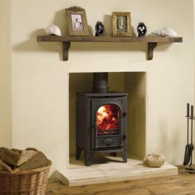 Stockton 4 Wood Burning Stove and Multi Fuel Stove