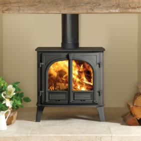 Stockton 5 Wide Wood Burning Stove and Multi Fuel Stove