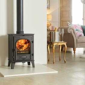 Stockton 6 Wood Burning Stove and Multi Fuel Stove