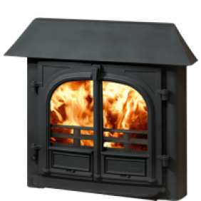 Stockton 8 Inset Wood Burning Stove and Multi Fuel Stove