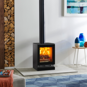 Vision Small Wood Burning and Multi-fuel Stove